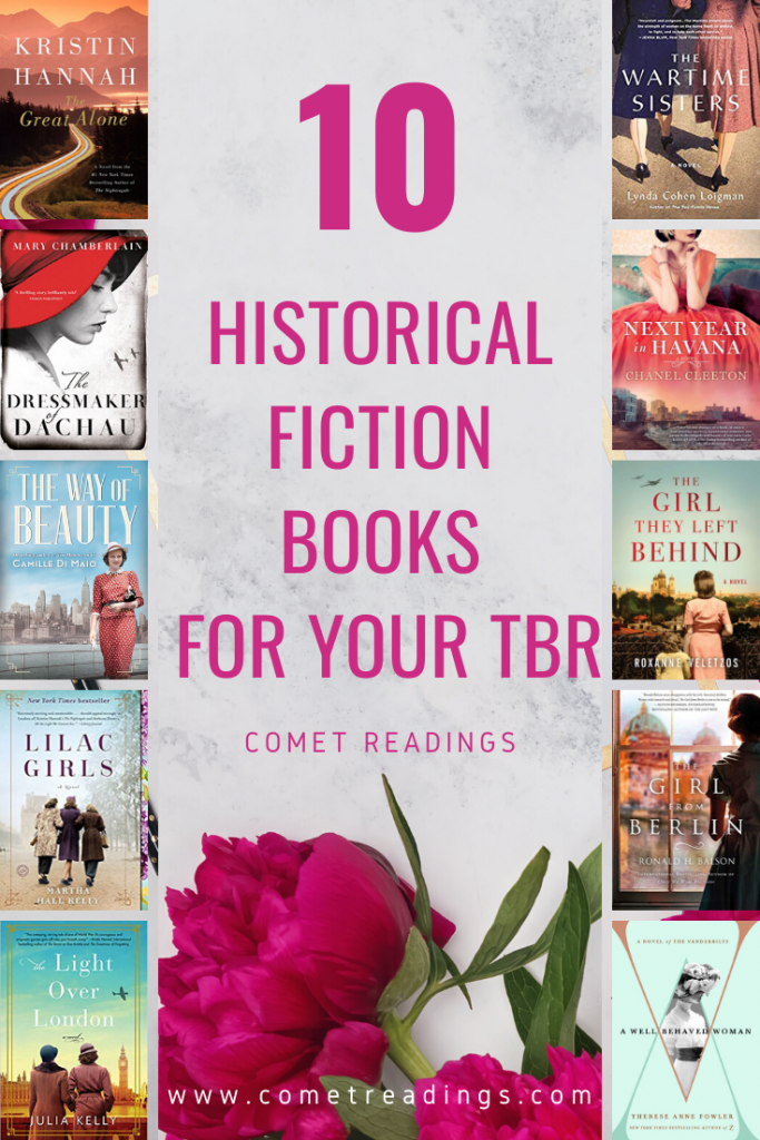 10 Historical fictions .BOOK COVERS