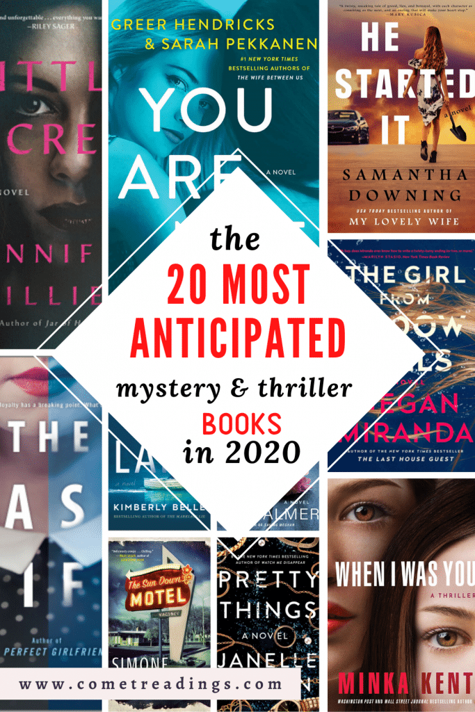 20 mystery and thrillers