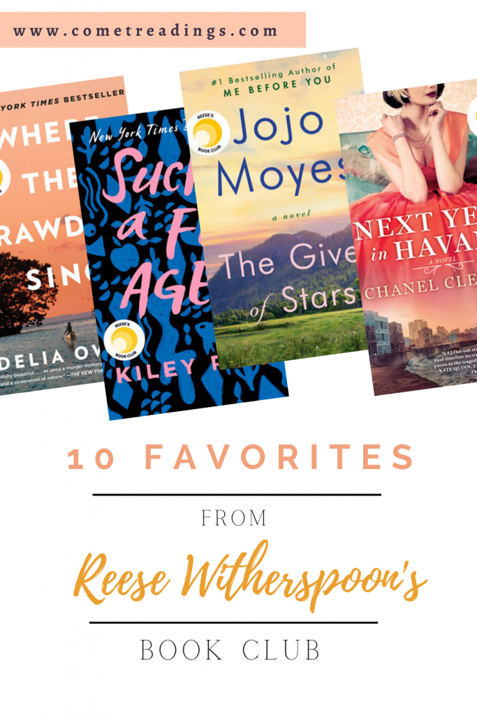 10 Favorite from Reese's Book Club post