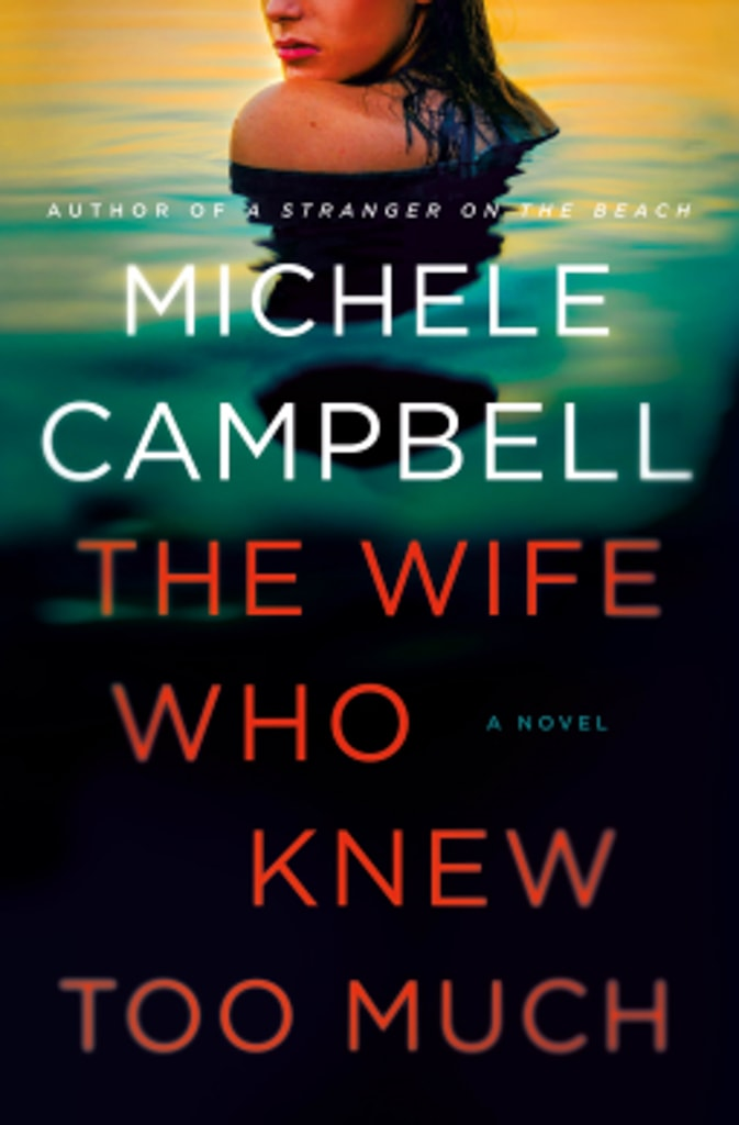 The Wife who knew too much book cover
