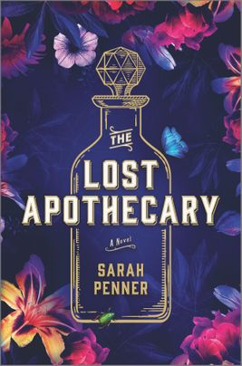 The Lost Apotecary book cover