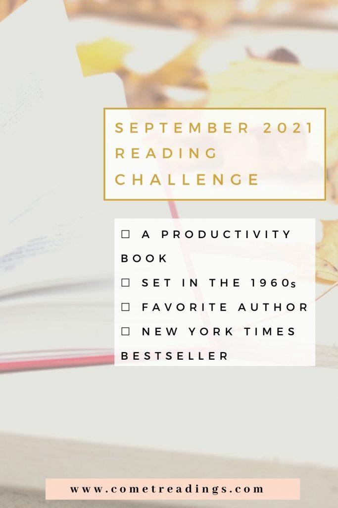 September 2021 Reading Challenge