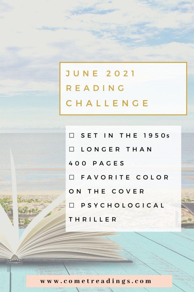 June 2021 Reading Challenge