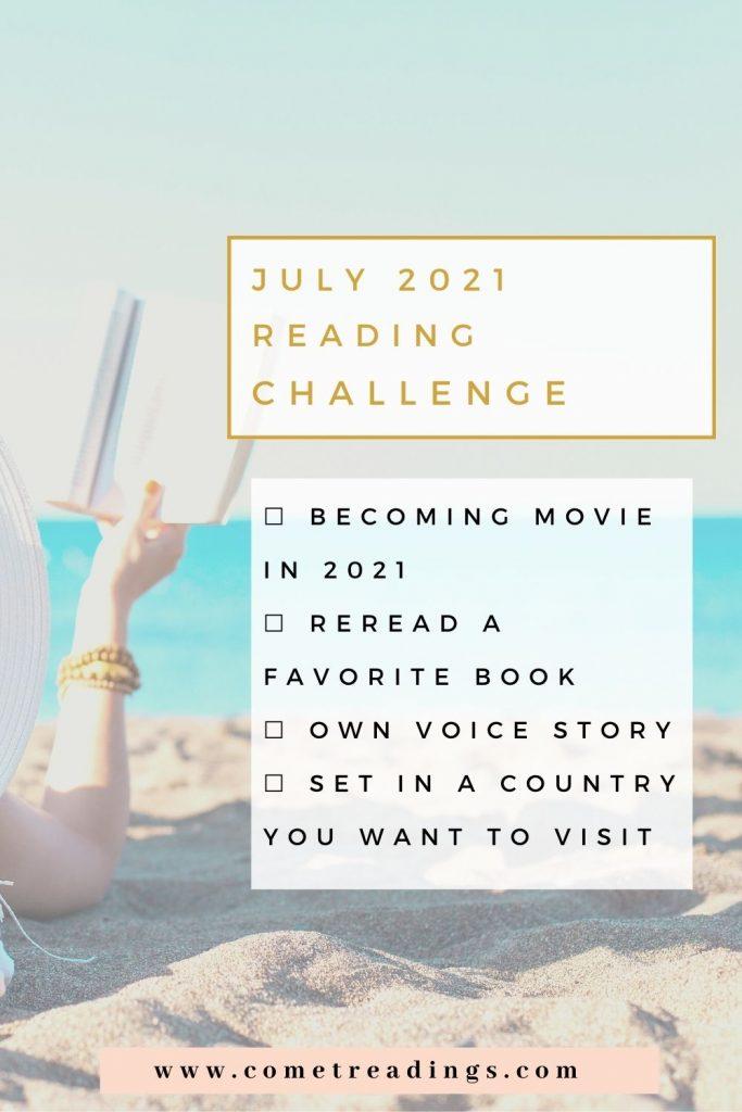 July 2021 Reading Challenge
