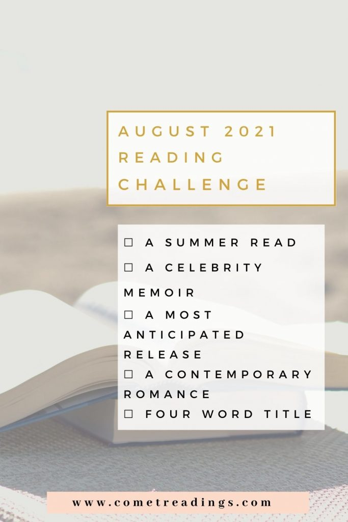 August 2021 Reading Challenge