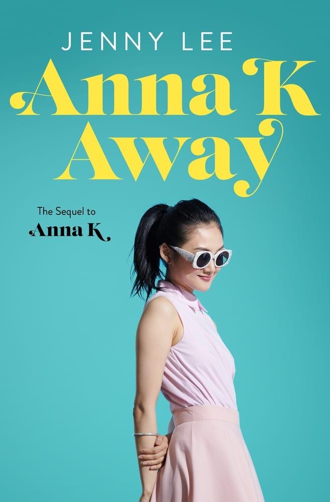 Anna K Away book cover
