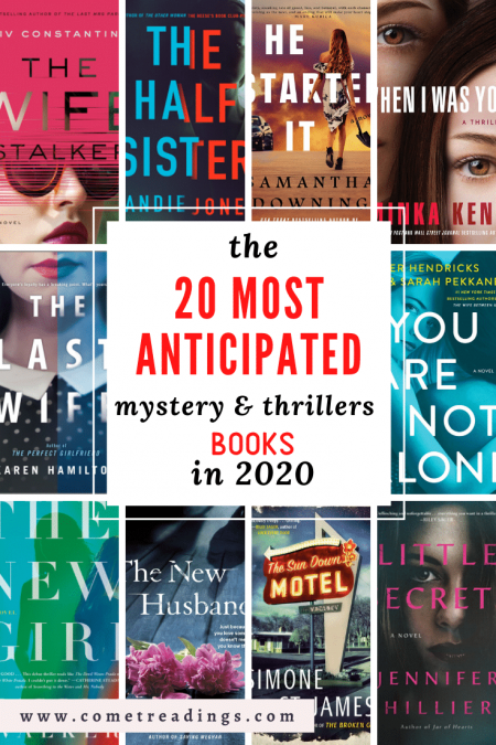 2020 Most Anticipated Mystery & Thrillers